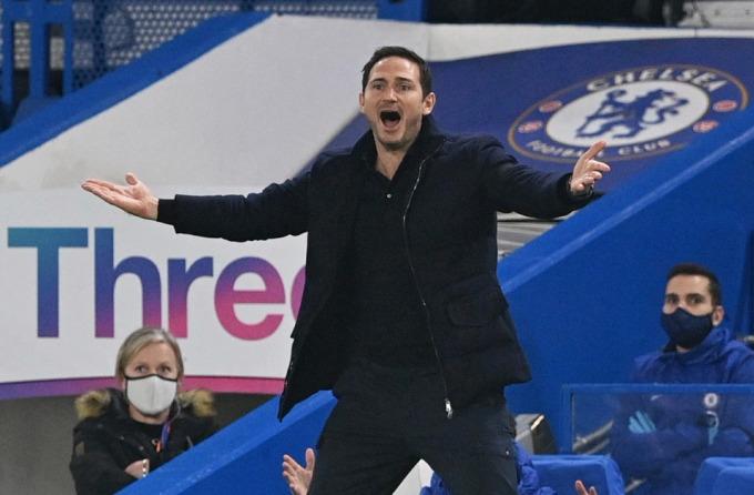 Lampard mất việc sau một năm rưỡi dẫn dắt Chelsea. Ảnh: Reuters