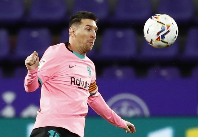Hợp đồng 675 triệu USD thậm chí chưa nói lên hết lợi ích tài chính và thể thao mà Messi đem lại cho Barca. Ảnh: Reuters