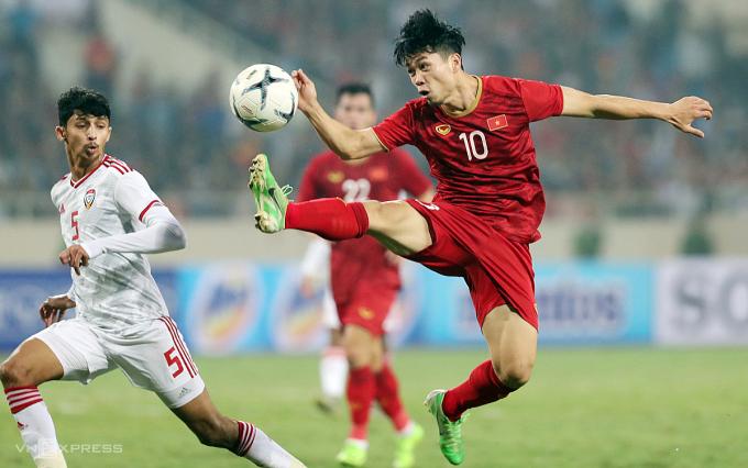 Các trận đấu còn lại của bảng G vòng loại World Cup khu vực châu Á có thể được tổ chức tập trung tại UAE vào tháng 6/2021. Ảnh: Đức Đồng.