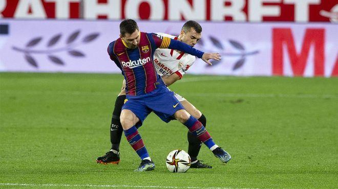 Sevilla hiệu quả trong cả tấn công lẫn phòng ngự. Ảnh: EFE.