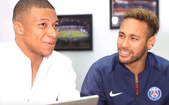 Neymar và Mbappe khi cùng dẫn một chương trình giao lưu trực tuyến với người hâm mộ PSG hồi tháng 1/2019. Ảnh: Le Parisien