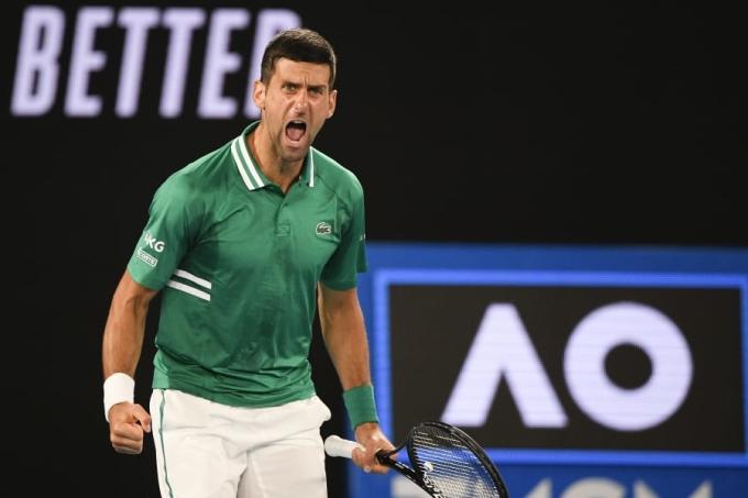 Djokovic lần thứ chín vào bán kết Australia Mở rộng. Ảnh: BR.