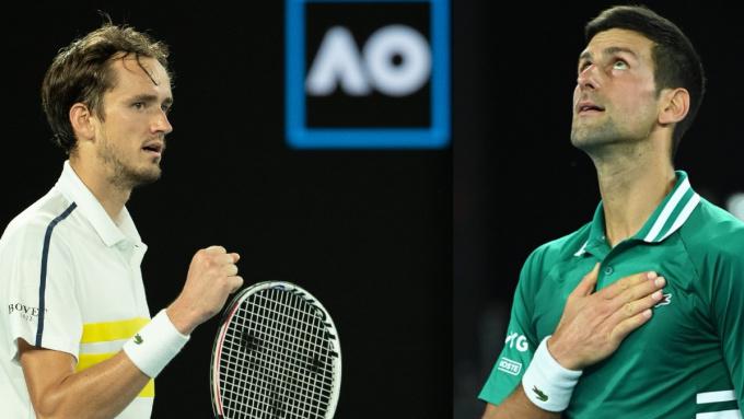 Chung kết Australia Mở rộng: Djokovic - Medvedev