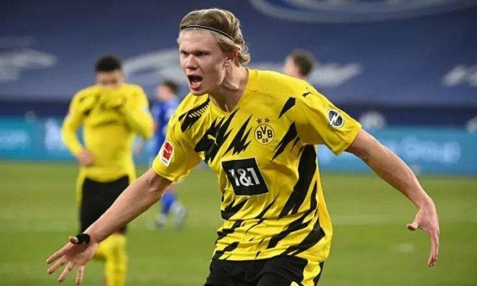 Haaland ghi 43 bàn qua 43 trận cho Dortmund. Ảnh: BVB