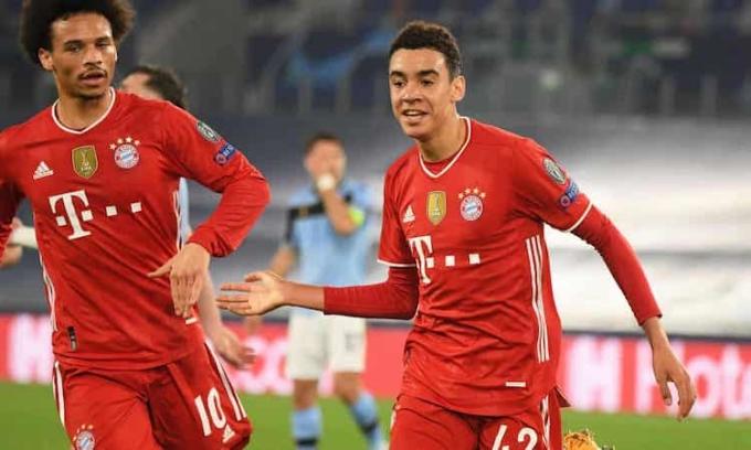 Musiala là cầu thủ trẻ nhất ghi bàn cho một CLB Đức tại Champions League. Ảnh: Reuters.