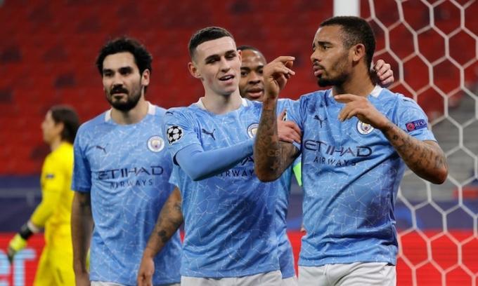 Man City thường bị chỉ trích là bỏ tiền mua thành công. Ảnh: Reuters.