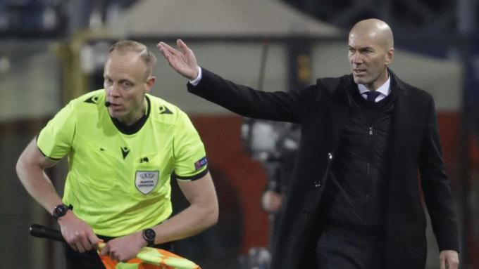 Zidane và Real giành chiến thắng quan trọng trên sân Atalanta. Ảnh: Marca.