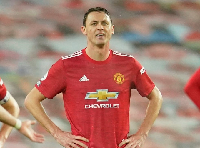 Ở tuổi 32, Matic đang chơi mùa thứ tư cho Man Utd. Ảnh: Goal.