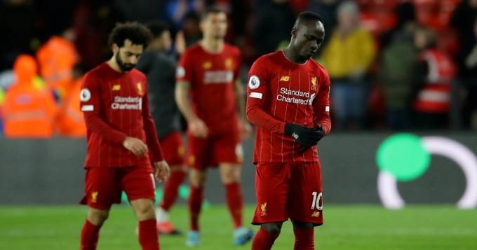 Liverpool chỉ ghi một bàn trong chuỗi năm trận thua ở Anfield vừa qua. Ảnh: Goal.