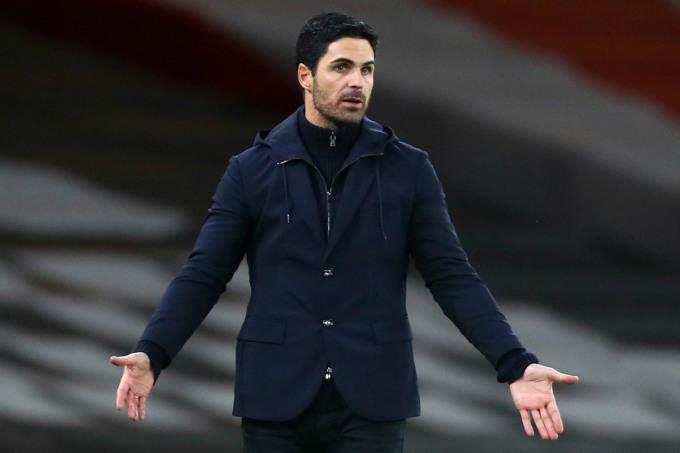 Arteta có tỷ lệ thắng 52% từ khi dẫn dắt Arsenal tháng 12/2019. Ảnh: Goal.