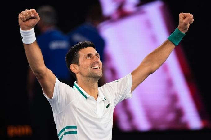 Novak Djokovic có năm giai đoạn giữ vị trí số một thế giới, bắt đầu từ 4/7/2011, với tổng cộng 311 tuần. Ảnh: ATP.