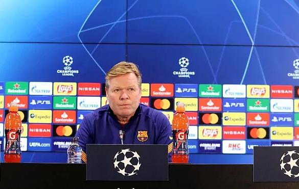 Barca của Koeman giành kết quả tích cực trong trận lượt về. Ảnh: FCB.