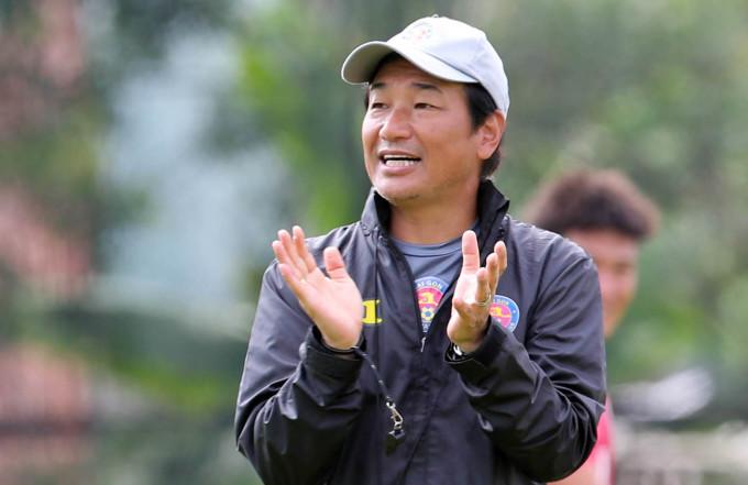 Ông Shimoda sẽ có trận ra mắt đầu tiên với tư cách HLV trưởng Sài Gòn FC. Ảnh: Đức Đồng.