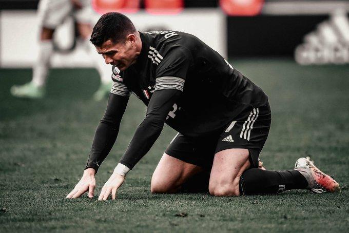Juventus, với Ronaldo làm chủ công, được kỳ vọng nhiều hơn cả khi ra châu Âu, nhưng năm thứ hai liên tiếp dừng bước ở vòng 1/8 Champions League. Ảnh: AFP