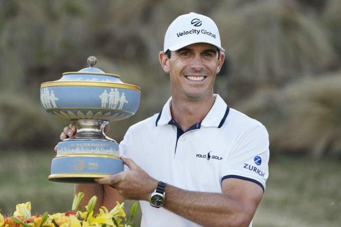 Horschel lần thứ sáu đoạt cúp ở PGA Tour. Ảnh: AP
