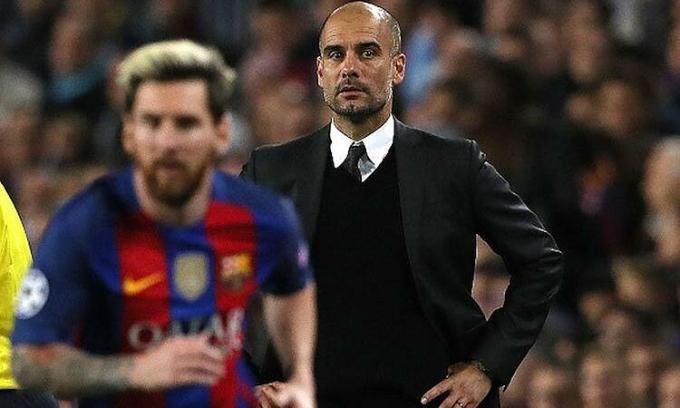 Guardiola ám chỉ có những cầu thủ không xứng để ông kết thân tại Barca. Ảnh: AFP.