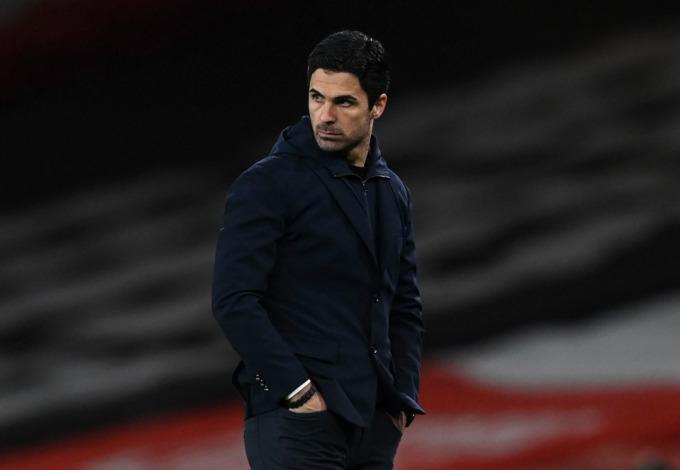 Arterta thất vọng với cách các học trò chiến bại trước Liverpool hôm 3/4 tại Emirates. Ảnh: Sports Mail