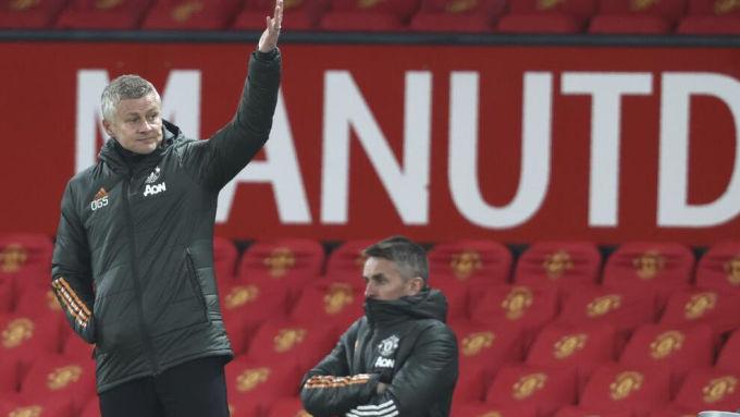Solskjaer đang từng bước thay đổi bản thân theo đà tiến bộ của Man Utd. Ảnh: AFP
