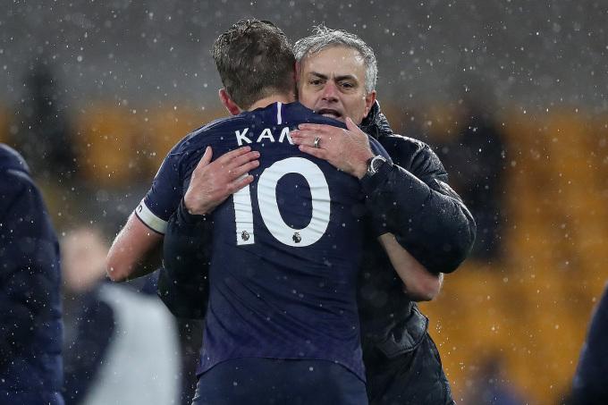 Mourinho nhanh chóng có công việc mới, trong khi Tottenham đang mông lung trong việc tìm người thay ông. Ảnh: PA