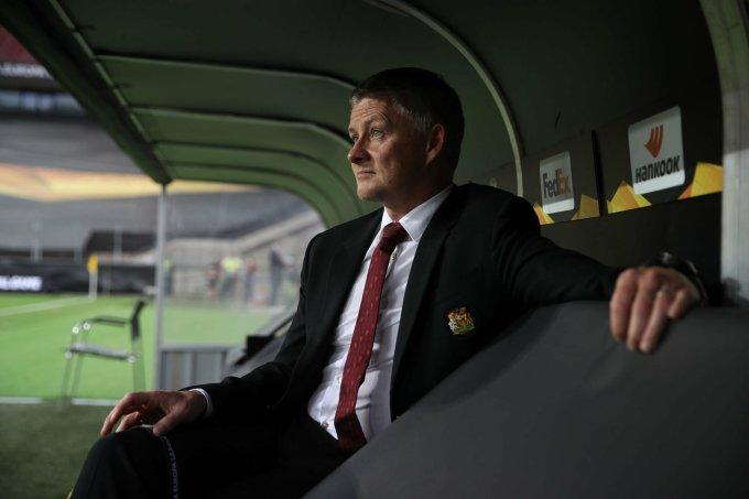 Trận thắng Roma 6-2 hôm qua là lần thứ chín dưới thời Solskjaer, Man Utd thắng với năm bàn ghi được. Ảnh: AFP