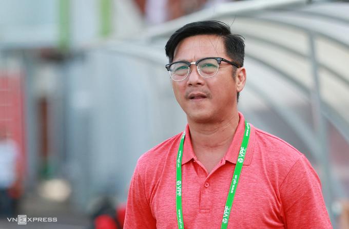 HLV Lê Huỳnh Đức đã nộp đơn xin nghỉ ở CLB Đà Nẵng. Ảnh: Lâm Thoả