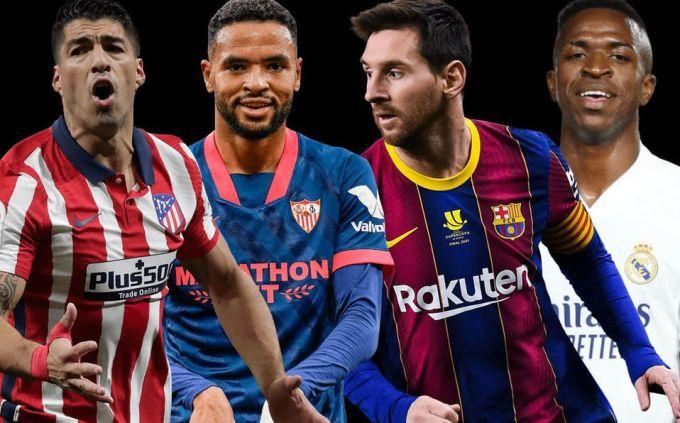 Hai trận đấu giữa bốn đội dẫn đầu cuối tuần này sẽ ảnh hưởng lớn đến cục diện cuộc đua vô địch La Liga. Ảnh: Mediotempo