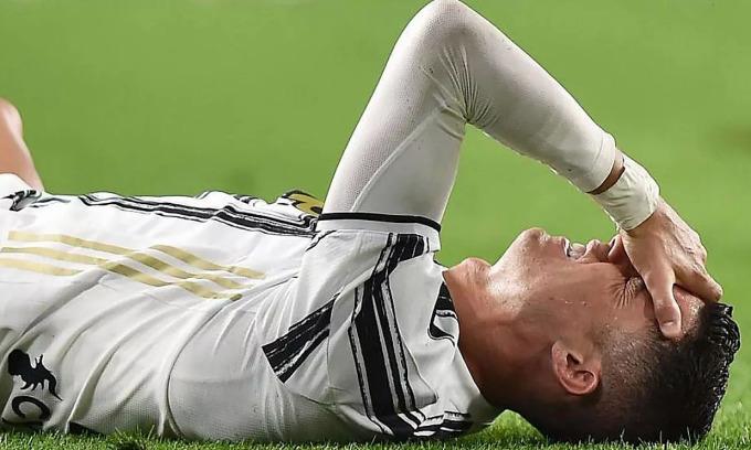 Juventus đang đứng thứ năm Serie A, sau chín năm liền đoạt scudetto. Ảnh: Marca