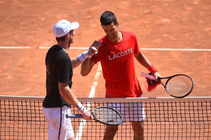 Djokovic mới chơi năm trận ở mùa đất nện năm nay.