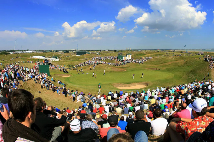 Đón khán giả trở đến Royal St George xem các golfer tranh tài là một ưu tiên của The Open 2021. Ảnh: The Open