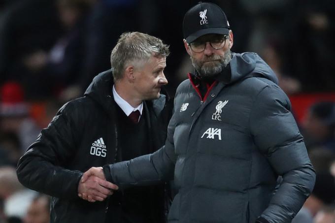 Liverpool của Klopp không có quyền tự quyết trong cuộc đua top 4, kể cả thắng Man Utd. Ảnh: Sky.
