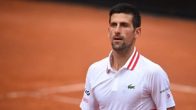 Djokovic thắng 12 trong 15 game đấu với Fokina. Ảnh: ATP.