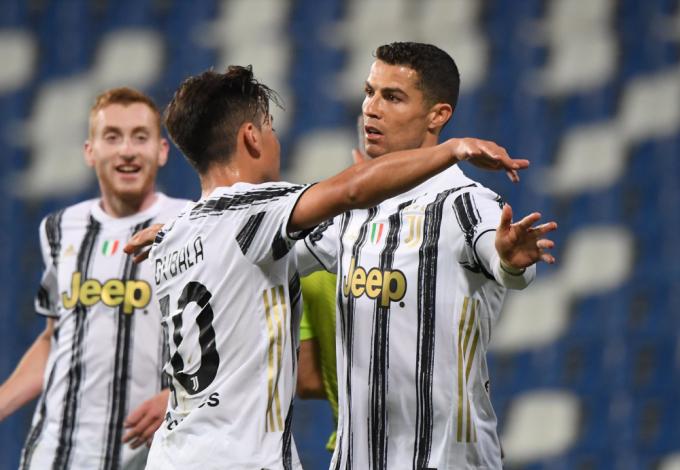 Ronaldo ghi 100 bàn trong 131 trận tại Juventus. Ảnh: Reuters.