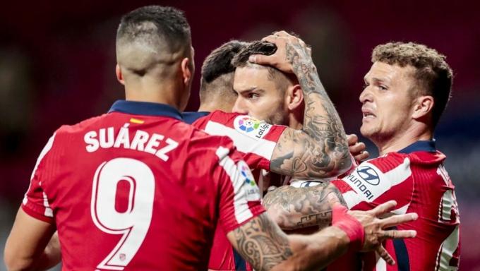 Suarez và đồng đội đang ở rất gần La Liga. Ảnh: AP.