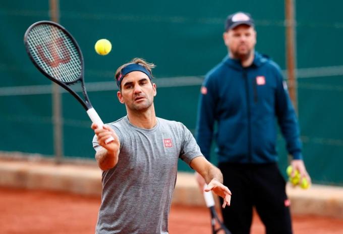 Federer mới chơi hai trận trong 15 tháng qua. Ảnh: ATP.