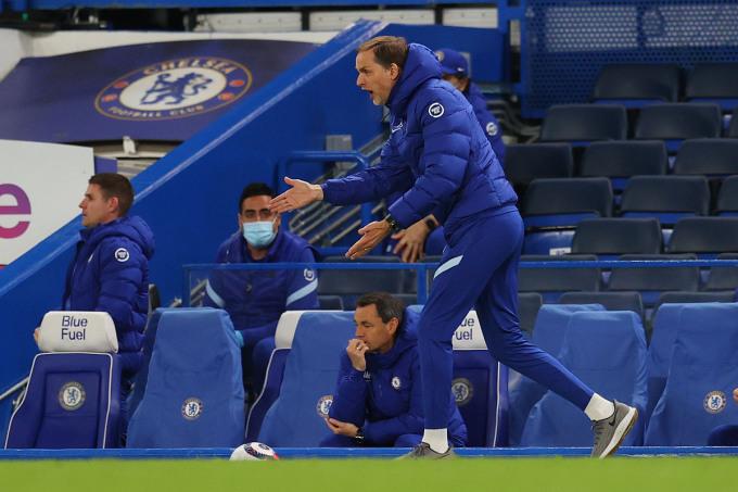 HLV Tuchel tin lợi thế vẫn nằm trong tay Chelsea, và điều quan trọng là các cầu thủ của ông không được phép sợ hãi khi tái ngộ Leicester. Ảnh: Reuters.