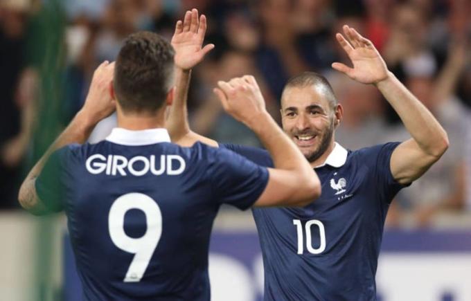 Tuyển Pháp được ví như hổ chắp thêm cánh, với sự trở lại của Benzema lần này. Ảnh: SIPA