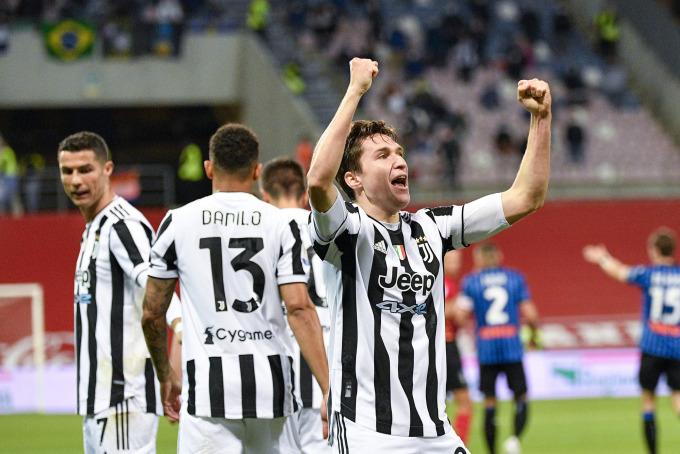Chiesa là cầu thủ hay nhất trên hàng công Juventus trước Atalanta. Ảnh: Lapresse