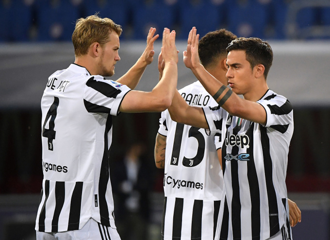 Juventus đạt được mục tiêu tối thiểu ở mùa giải năm nay. Ảnh: Reuters.