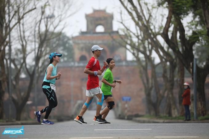Các bài tập sẽ phát huy tác dụng rõ rệt ở ngày race giải. Ảnh: VnExpress Marathon.