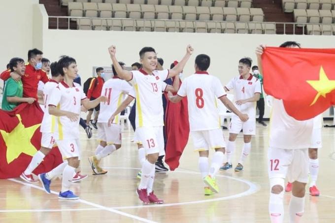 Futsal Việt Nam lần thứ hai giành quyền tham dự World Cup sau lần đầu năm 2016.