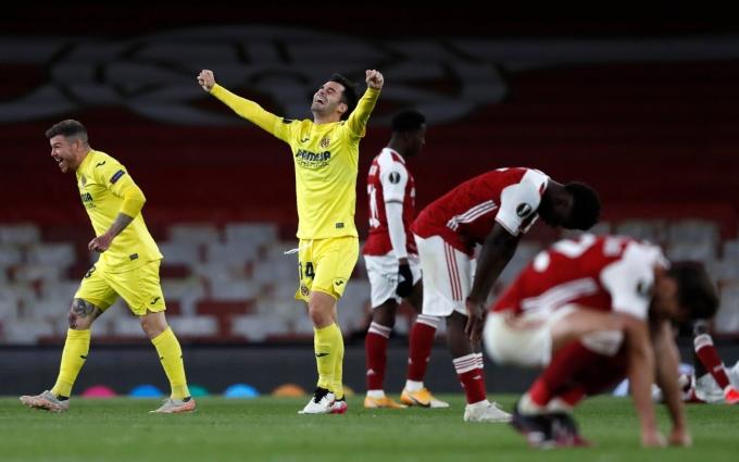 Emery cho rằng Villarreal đã vượt qua bất công để thắng Arsenal ở bán kết, chứ không hề may mắn. Ảnh: AP