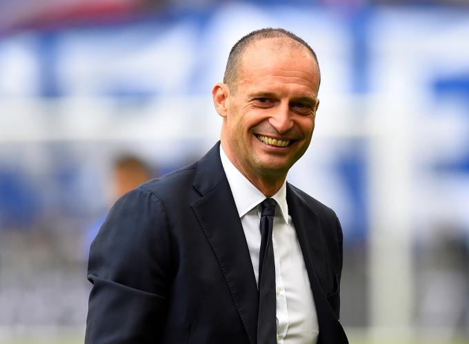 Max Allegri khi còn tại vị ở Juventus vào tháng 5/2019. Ảnh: Reuters.