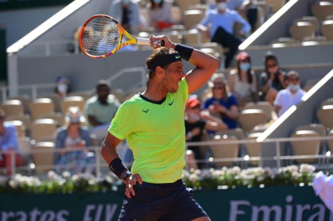 Nadal đang có chuỗi 31 trận thắng ở Roland Garros, từ sau thất bại trước Djokovic năm 2015. Ảnh: ATP