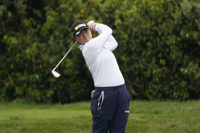 Saso là gương mặt mới, nhiều triển vọng của golf nữ châu Á. Ảnh: AP