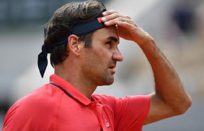 Federer không đặt nặng thành tích tại Roland Garros năm nay. Ảnh: ATP