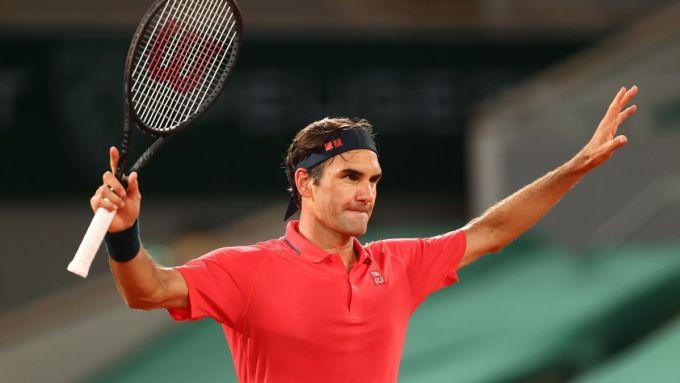 Federer chưa thua tay vợt nào ngoài top 55 ATP trong lịch sử dự Roland Garros. Ảnh: ATP