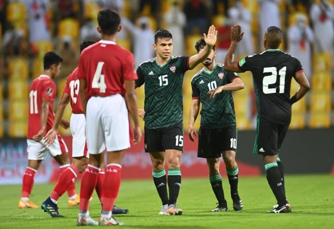 UAE toàn thắng ở ba trận trong chín ngày gần nhất. Ảnh: UAEFA