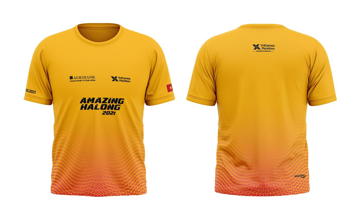 VM Amazing Hạ Long 2021 ra mắt áo đấu và áo Finisher