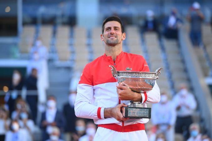 Kể từ 2011, Djokovic hai lần đoạt ba Grand Slam trong một năm và bốn lần đoạt hai Grand Slam một năm. Ảnh: