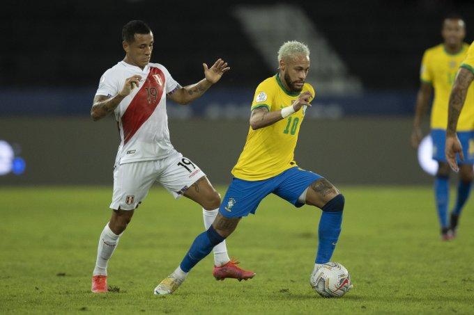 Peru bị khuất phục hoàn toàn khi Brazil đẩy cao tốc độ ở nửa cuối hiệp hai. Ảnh: CBF